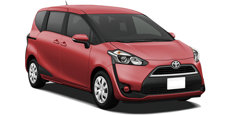 Toyota Sienta Red